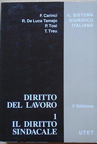 Diritto del lavoro: 1 ISBN:9788802047935