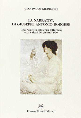G. Paolo Giudicetti La narrativa di Giuseppe