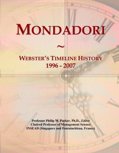 Parker Mondadori: Webster's Timeline History,