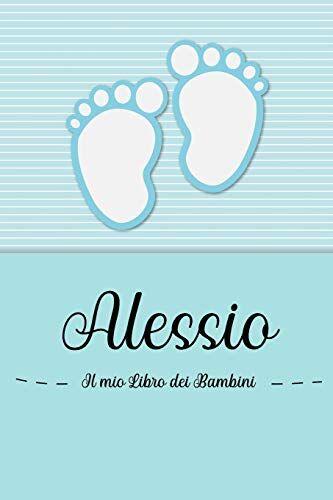 en lettres Bambini Alessio - Il mio Libro dei