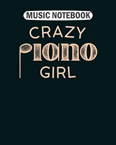 Music Notebook Music Notebook: crazy piano