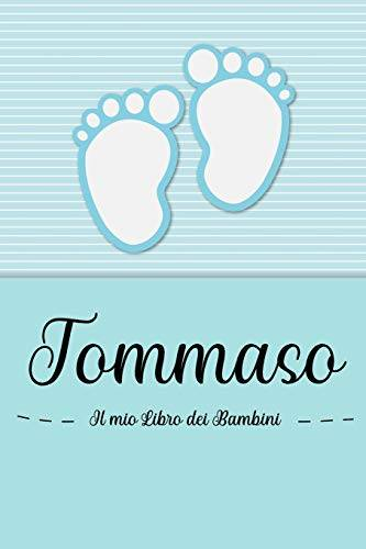 en lettres Bambini Tommaso - Il mio Libro dei