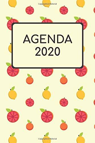 Calendar Notebook Agenda 2020: Agenda