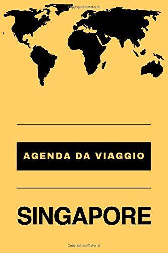 In Viaggio Agenda da viaggio SINGAPORE: Diario