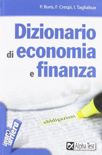 Paolo Buro Dizionario di economia e finanza