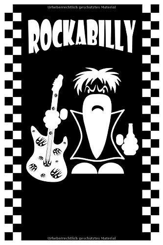 Crevell Published Notizbuch Rockabilly Gitarre