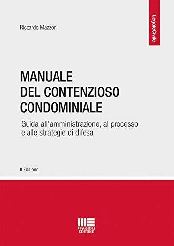 Riccardo Mazzon Manuale del contenzioso