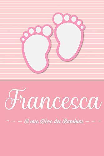 en lettres Bambini Francesca - Il mio Libro
