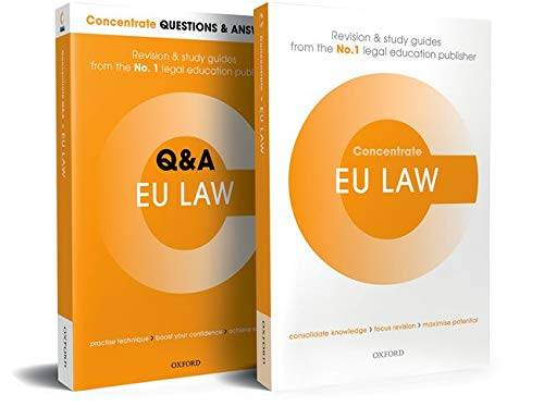 Nigel Foster EU Law Revision Concentrate Pack: