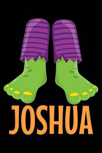 Humor Vibes Joshua: Halloween Notebook