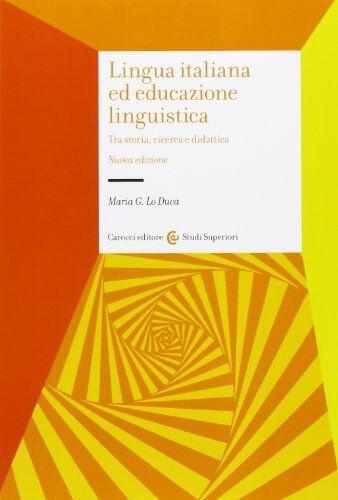 Maria Giuseppa Lo Duca Lingua italiana ed