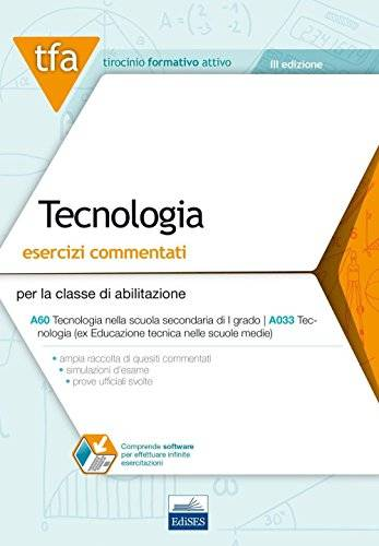 D. Carchedi E15 TFA. Tecnologia. Esercizi