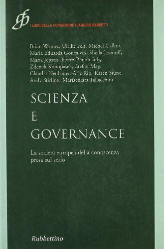 Scienza e governance. La società europea