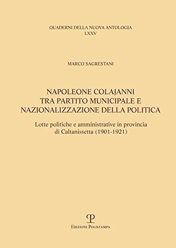Marco Sagrestani Napoleone Colajanni, tra