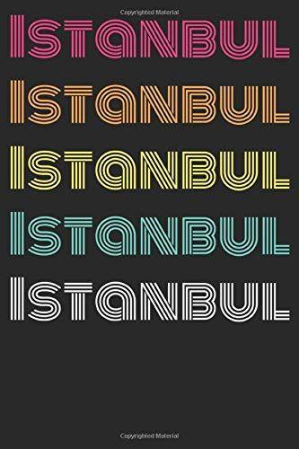 Türkische Notizbücher Istanbul Colored: Dot