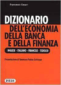 Francesco Cesari Dizionario dell'economia