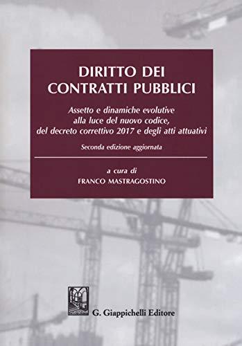 Diritto dei contratti pubblici ISBN:9788892118195