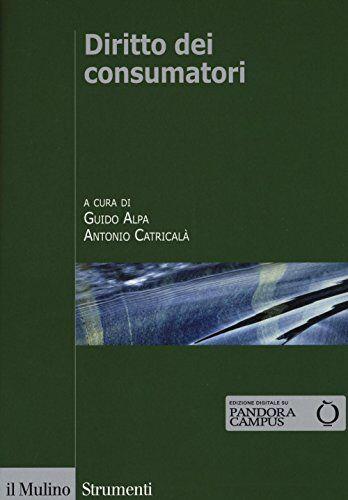 Diritto dei consumatori ISBN:9788815265814