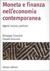 Giuseppe Ciccarone Moneta e finanza