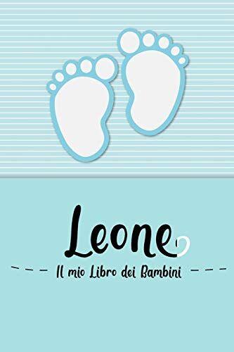 en lettres Bambini Leone - Il mio Libro dei