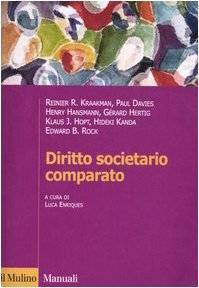 Diritto societario comparato ISBN:9788815109927