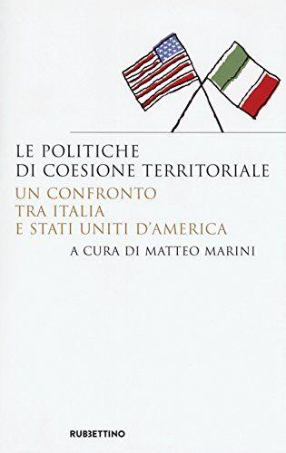 Le politiche di coesione territoriale. Un