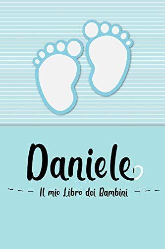 en lettres Bambini Daniele - Il mio Libro dei