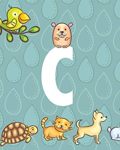Wewen Kids Collection C: Cute Animal Monogram