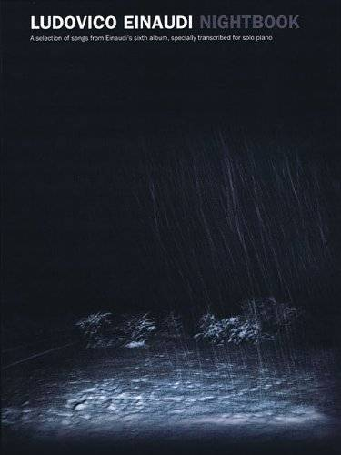 LUDOVICO EINAUDI NIGHTBOOK ISBN:9781849383394