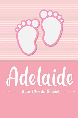en lettres Bambini Adelaide - Il mio Libro dei