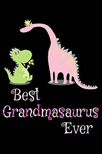 Humor Vibes Best grandmasaurus ever: Notebook