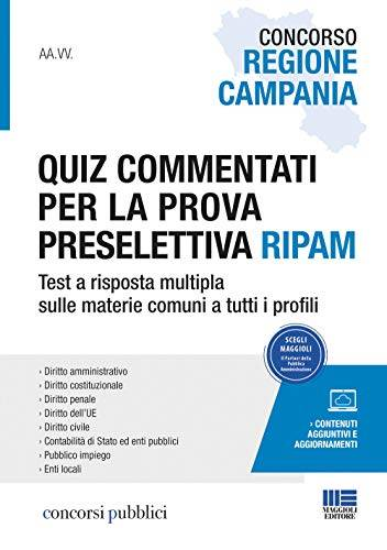 Autori Vari Concorso Regione Campania. Quiz