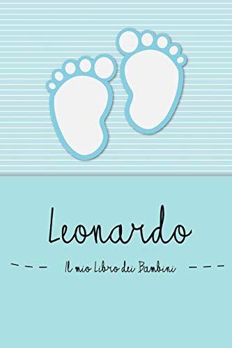 en lettres Bambini Leonardo - Il mio Libro dei