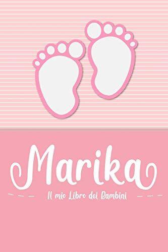 en lettres Bambini Marika - Il mio Libro dei