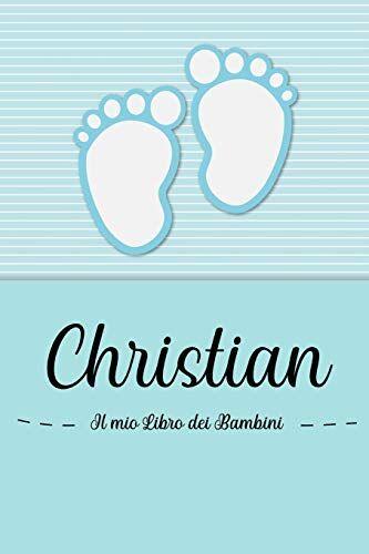 en lettres Bambini Christian - Il mio Libro