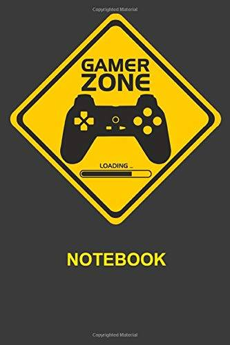 Antonia Roman Gamer Zone Notebook: Composition