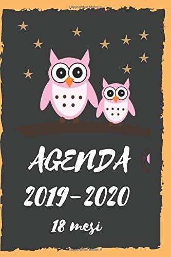 Rancho Agende Agenda 2019-2020 18 mesi: