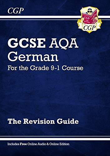 CGP Books GCSE German AQA Revision Guide - for