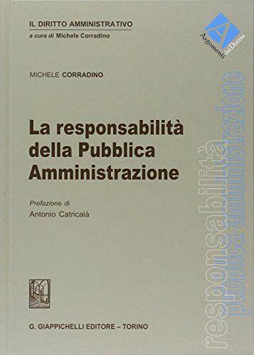 Michele Corradino La responsabilità della