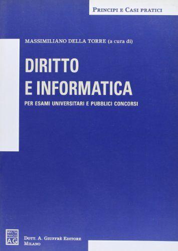 Diritto e informatica ISBN:9788814127144