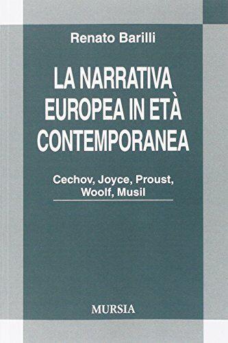Renato Barilli La narrativa europea in età