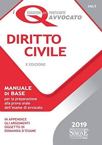 AA.VV. Diritto civile. Manuale di base per la