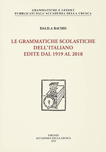 Dalila Bachis Le grammatiche scolastiche