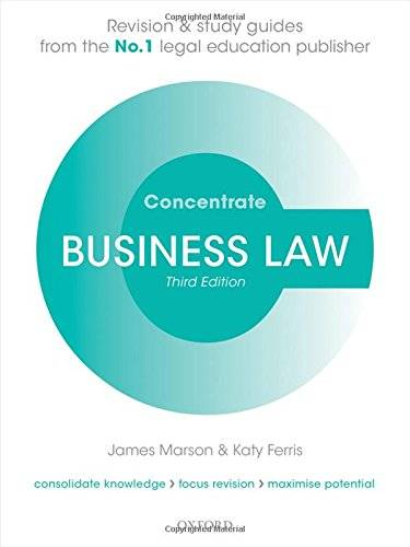 James Marson Business Law Concentrate: Law