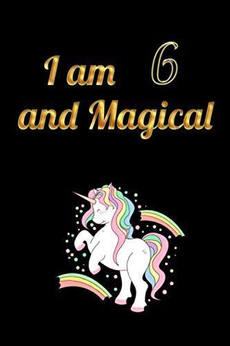 MR Press I am 6 and Magical: Unicorn Journal