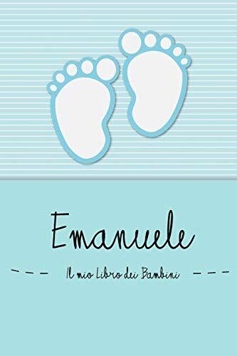 en lettres Bambini Emanuele - Il mio Libro dei