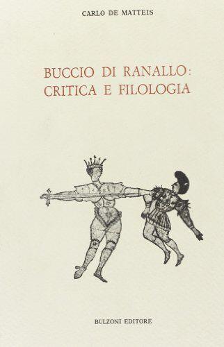 Carlo De Matteis Buccio Ranallo: critica e
