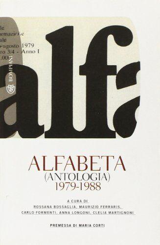 Bompiani Alfabeta (antologia) 1979-1988