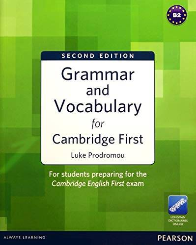 Luke Prodromou Grammar and Vocabulary for FCE