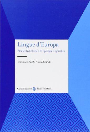 Emanuele Banfi Lingue d'Europa. Elementi di